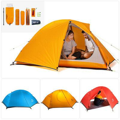 cycling backpacking camping tent hiking ultralight 20d