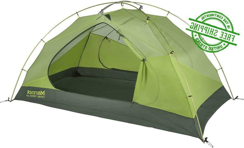 camping tent backpacking 3 person cabin crane