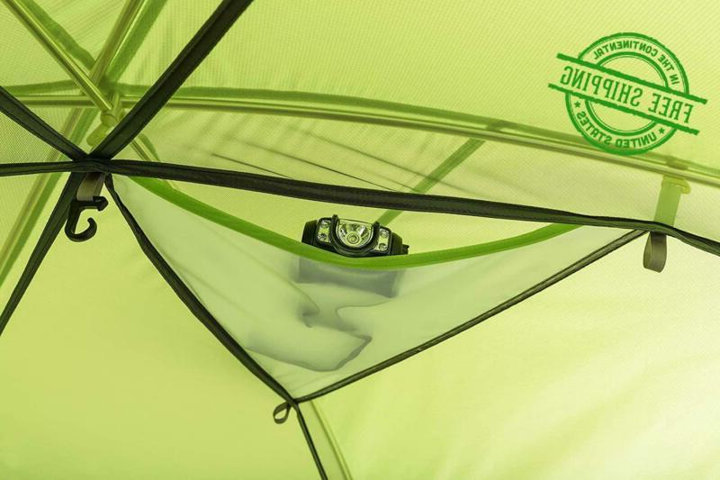Camping Tent 3 Person Cabin Green Creek Person
