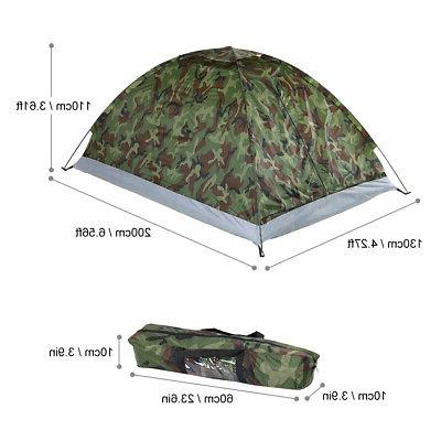 2-3 Person Waterproof 4 Tent Camouflage
