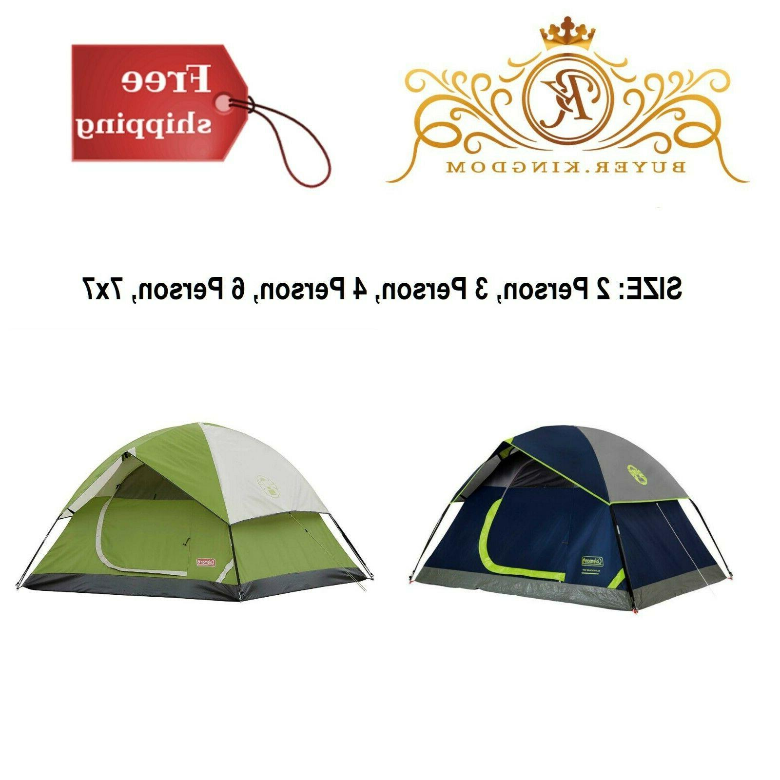 Camping Tent Sundome Dome Backpacking Hiking Outdoor Polyest