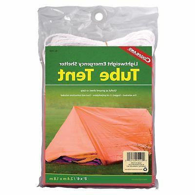 Coghlan's Tube Tent Emergency Lightweight Rugged Polyethylen