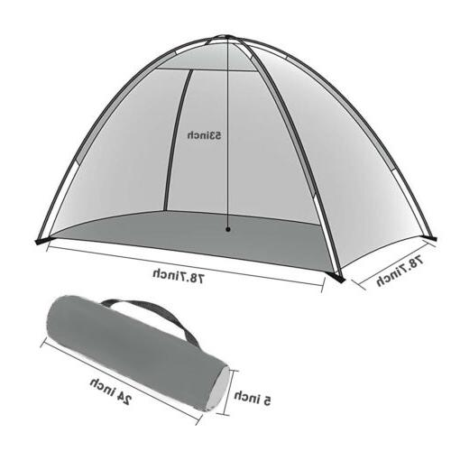 3-4 Person Pop Up Dome Tent Hiking Family