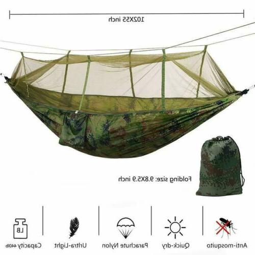 Double Camping Mosquito Net Hanging Outdoor