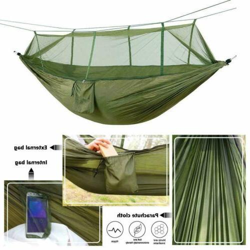 Mosquito Net Nylon Hanging Bed Outdoor Portable