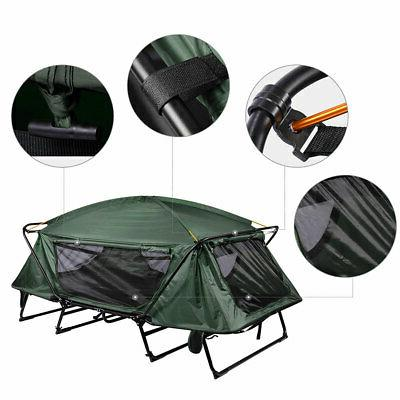 Double Folding Portable Bed Rain Fly