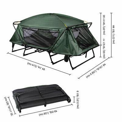 Double Folding Waterproof Bed Rain