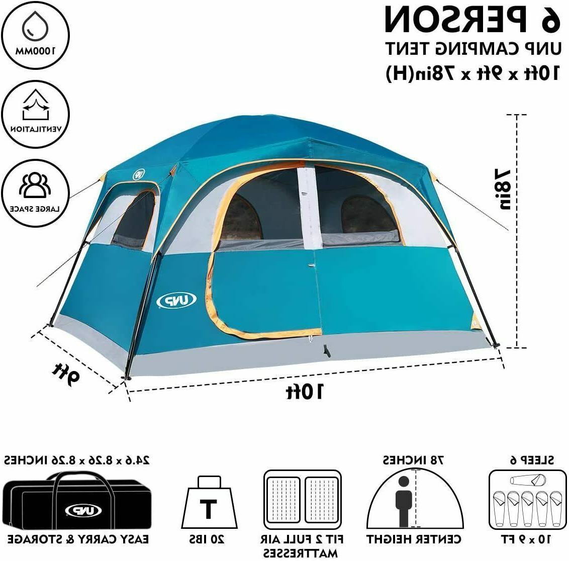 Original Camping 6 Easy Setup