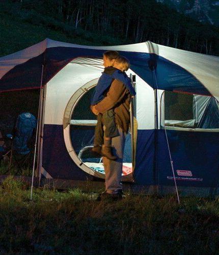 Coleman Elite Person Tent LED Light System Hiking