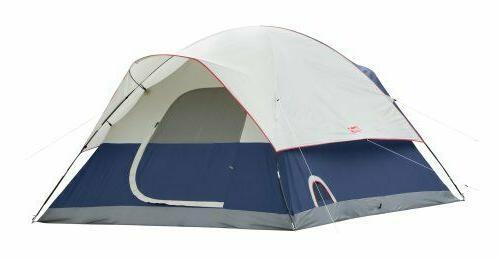 Coleman Sundome 6 Person LED System Outdoor Hiking