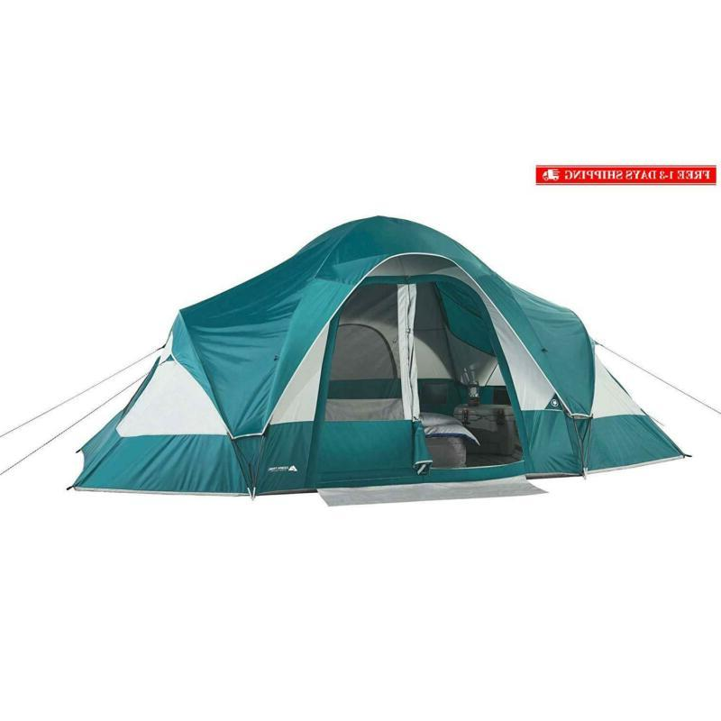family camping tent for 8 persons