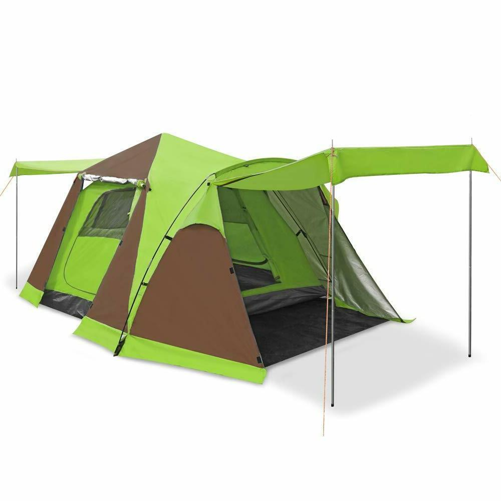 Family Tent Pop Green Hiking