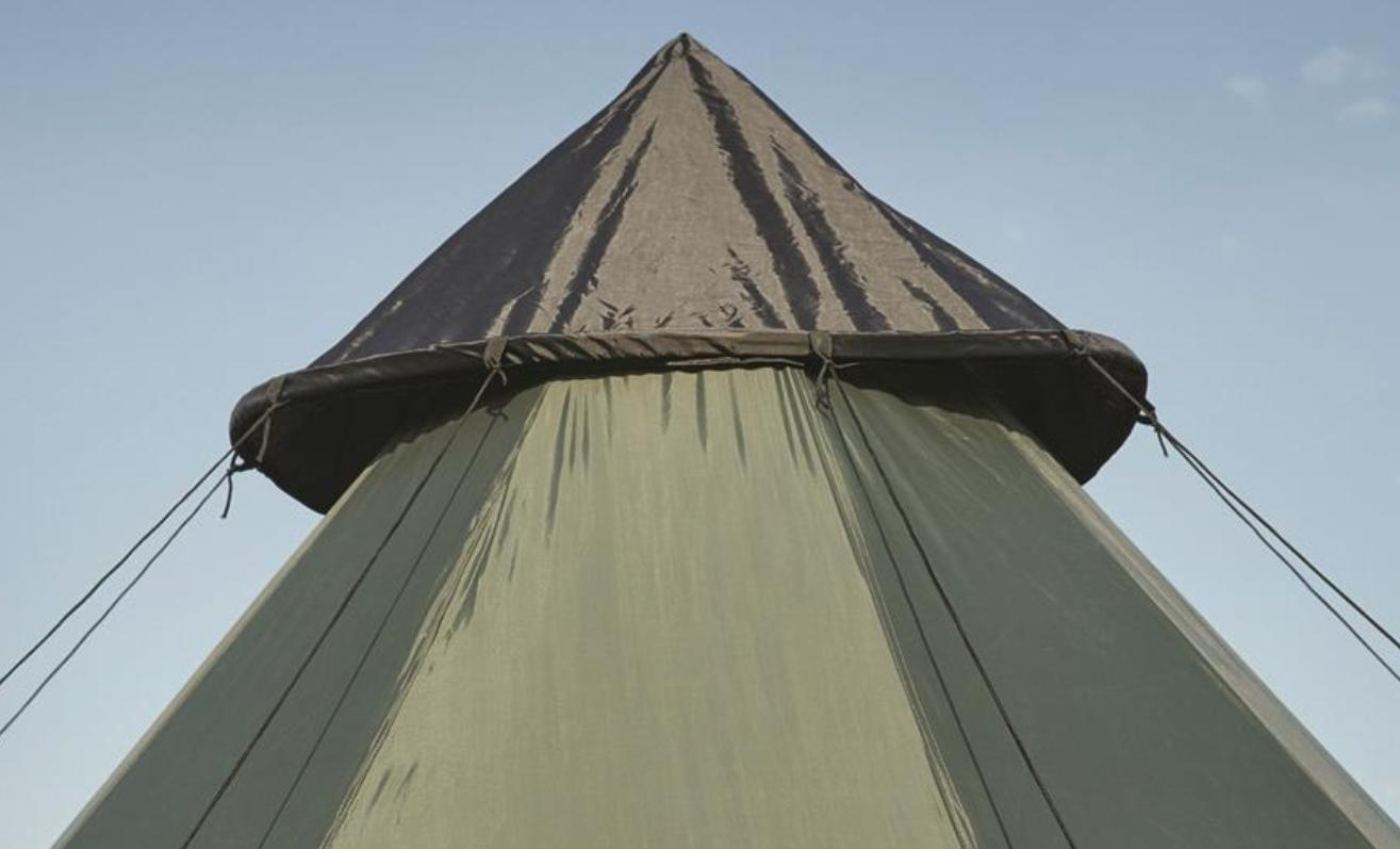 Family Sleeps 6 Green Camp Army Shelter Weatherproof