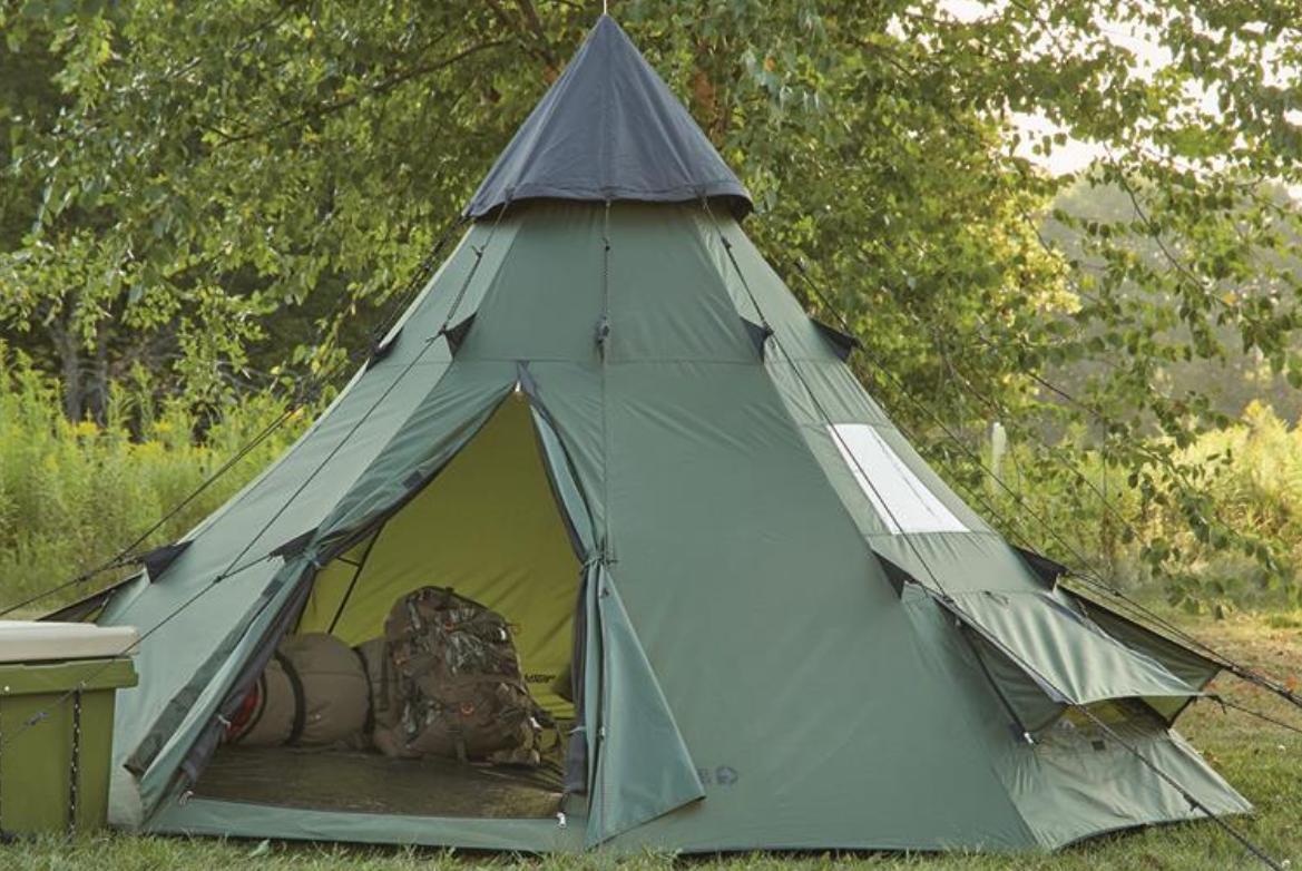 Family Teepee Tent Sleeps Camp Army