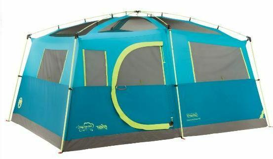 Coleman Fast Pitch Outdoor 8 Person Instant Camping