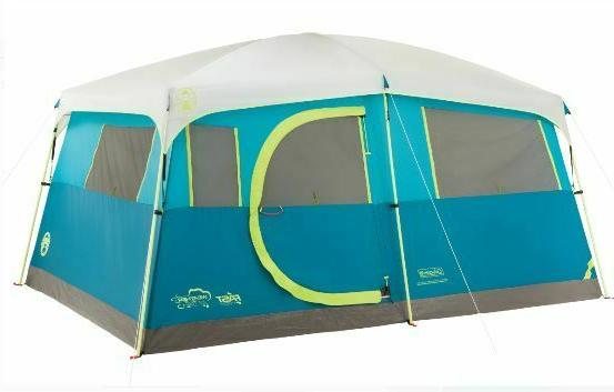 Coleman Fast Pitch Outdoor Instant Camping Cabin Family Tent