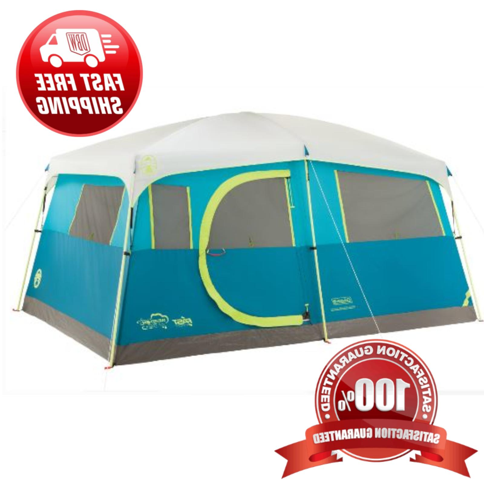 fast pitch waterproof outdoor 8 person instant
