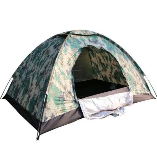Outdoor Camping Waterproof 4 Season 2 Person Folding Tent Ca