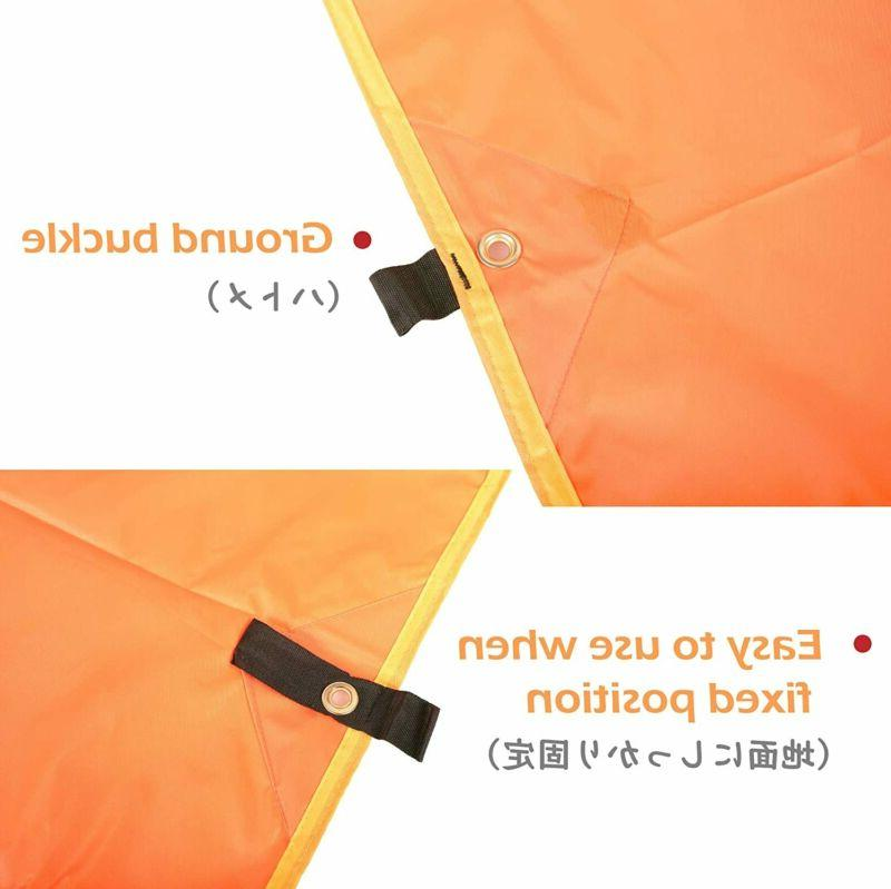 Azarxis Cloth Tent Backpacking Saver Gro