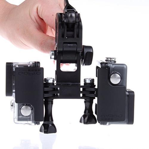 EEEKit Rod/Bow Fixing Clip for GoPro HERO4 HERO+ Black, SJCAM