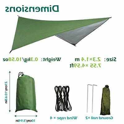 Azarxis Camping Tarp Rain Waterproof Footprint