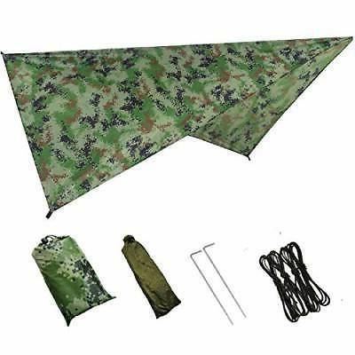 hammock camping tarp rain fly waterproof tent