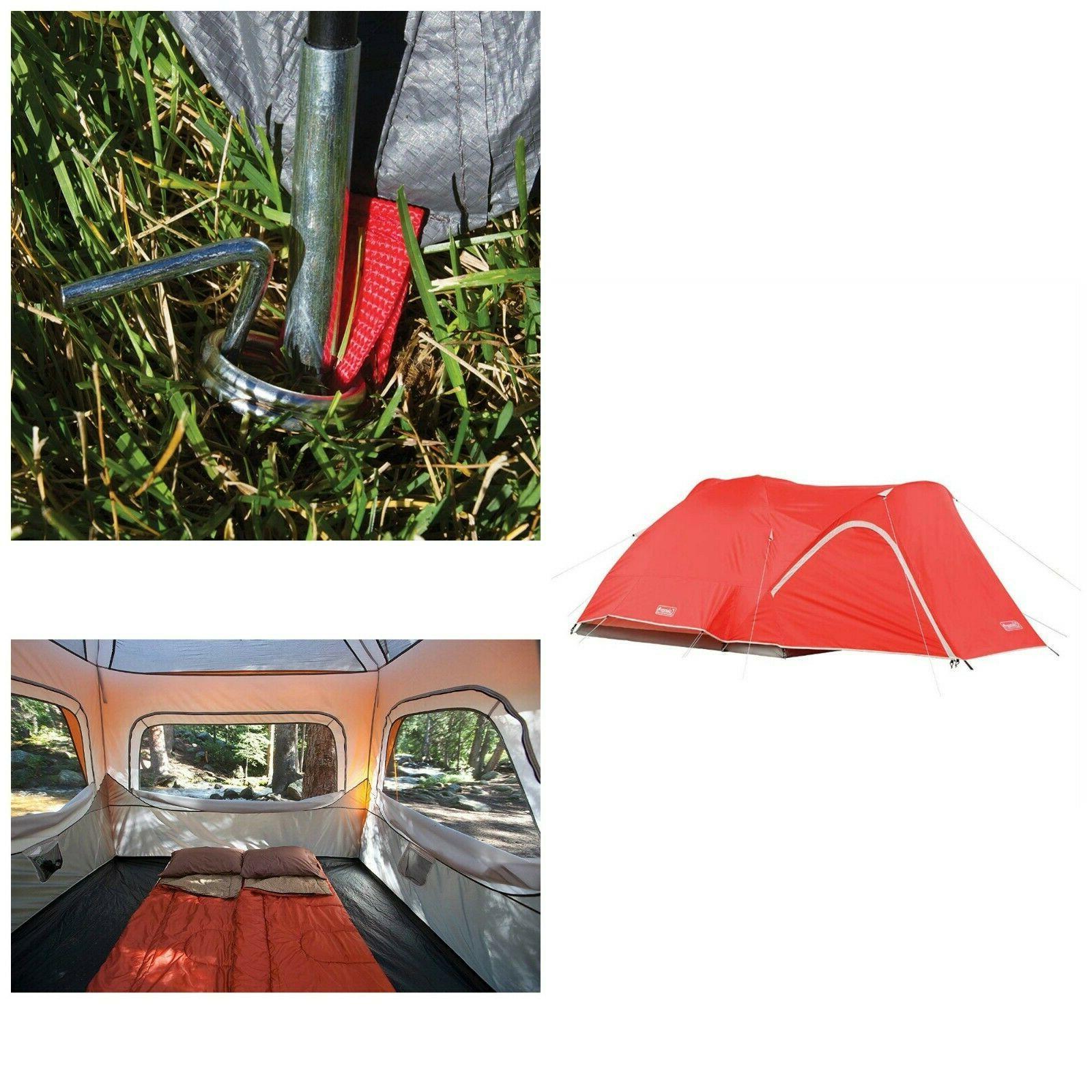 Coleman Hooligan Tent Waterproof Camping Backpacking 4 Perso