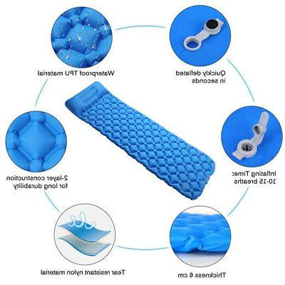 Inflatable Tent Mat Travel Sleeping Pad
