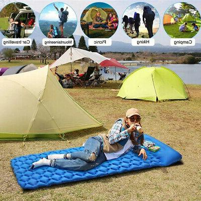 Inflatable Air Tent Mat Travel Sleeping