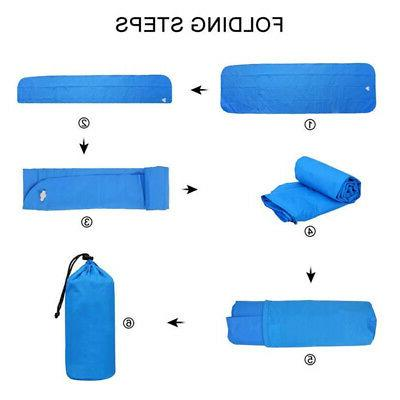 Inflatable Outdoor Tent Mat Camping Travel Sleeping Pad