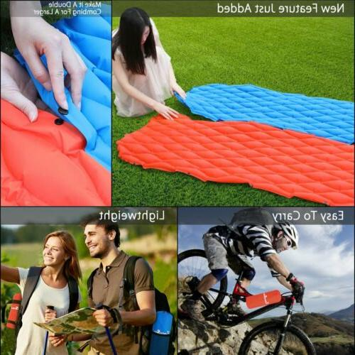 Inflatable Tent Mat for Hiking Travel