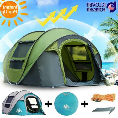 instant pop up tent 4 5 person