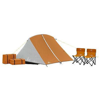 Kids W/ Tent +2 Pocket Outdoor Shelter