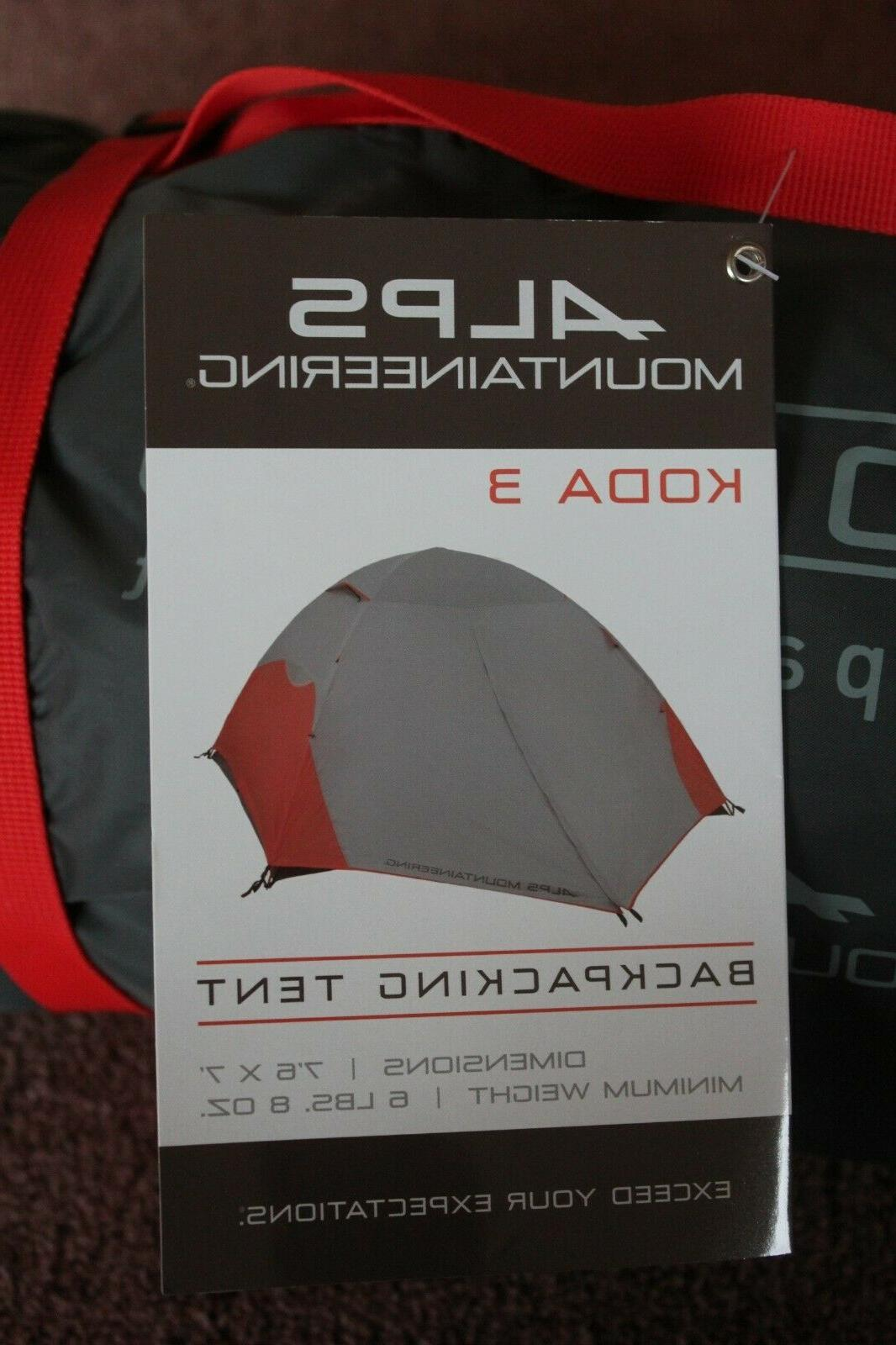 ALPS Mountaineering 3 Person Camping, Backpacking, New
