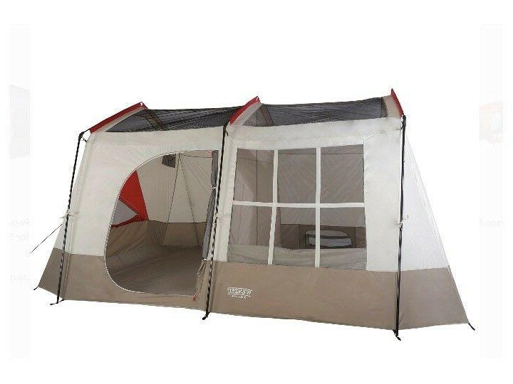 Wenzel Kodiak 12 14 Person Family Cabin Style Camping Tent w/