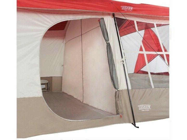 Wenzel Kodiak x 14 Person Family Cabin w/ Red