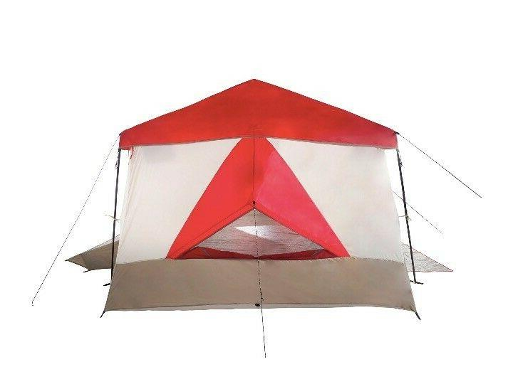 Wenzel 12 x 14 Cabin Camping w/ Red