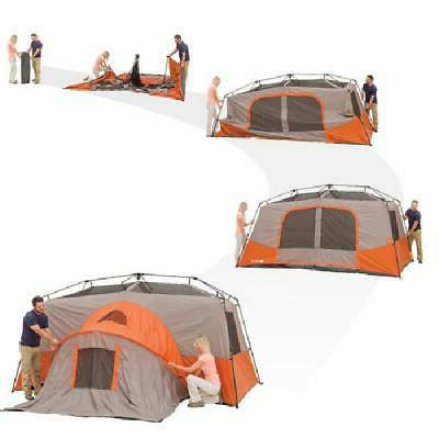 Large Tent 3 Rooms Season Hiking NEW