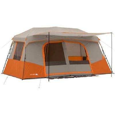 large 11 person cabin tent 3 rooms