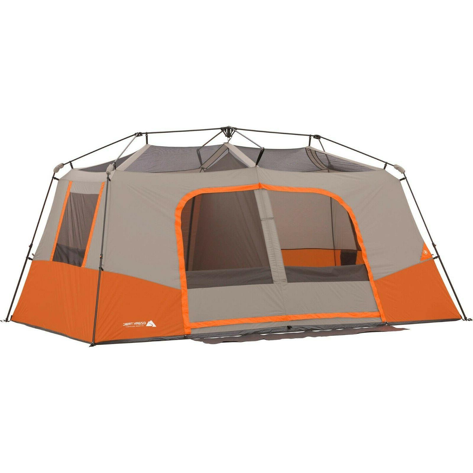 Large 11 Cabin Tent 3 Rooms All Season Camping Hiking NEW
