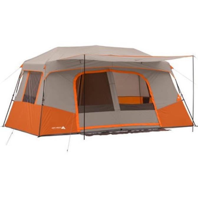Large 11 Cabin Tent 3 Rooms Season Outdoor Hiking