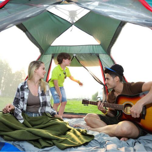Large Tent Camping Tent Hiking Person