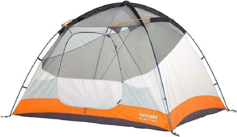 marmot limestone camping tent durable seam taped