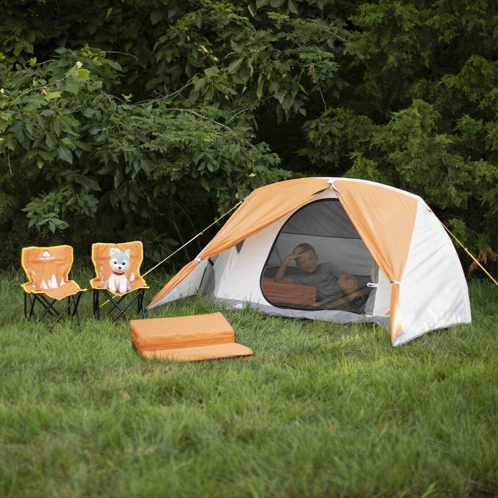Ozark Camping Kit with Chairs, and Sleeping Pads