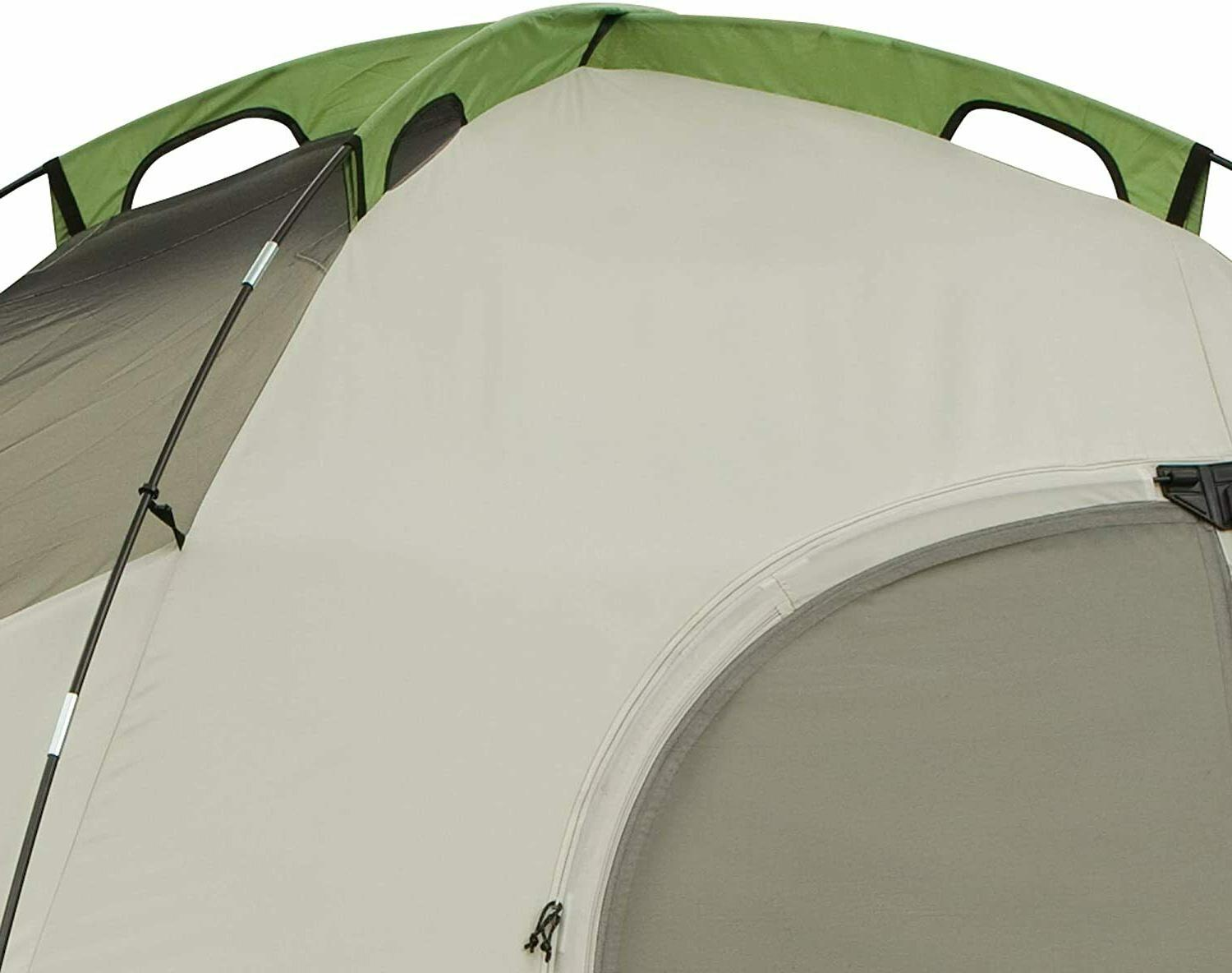 Coleman Tent for Camping Montana Tent with Easy Setup, Green, New