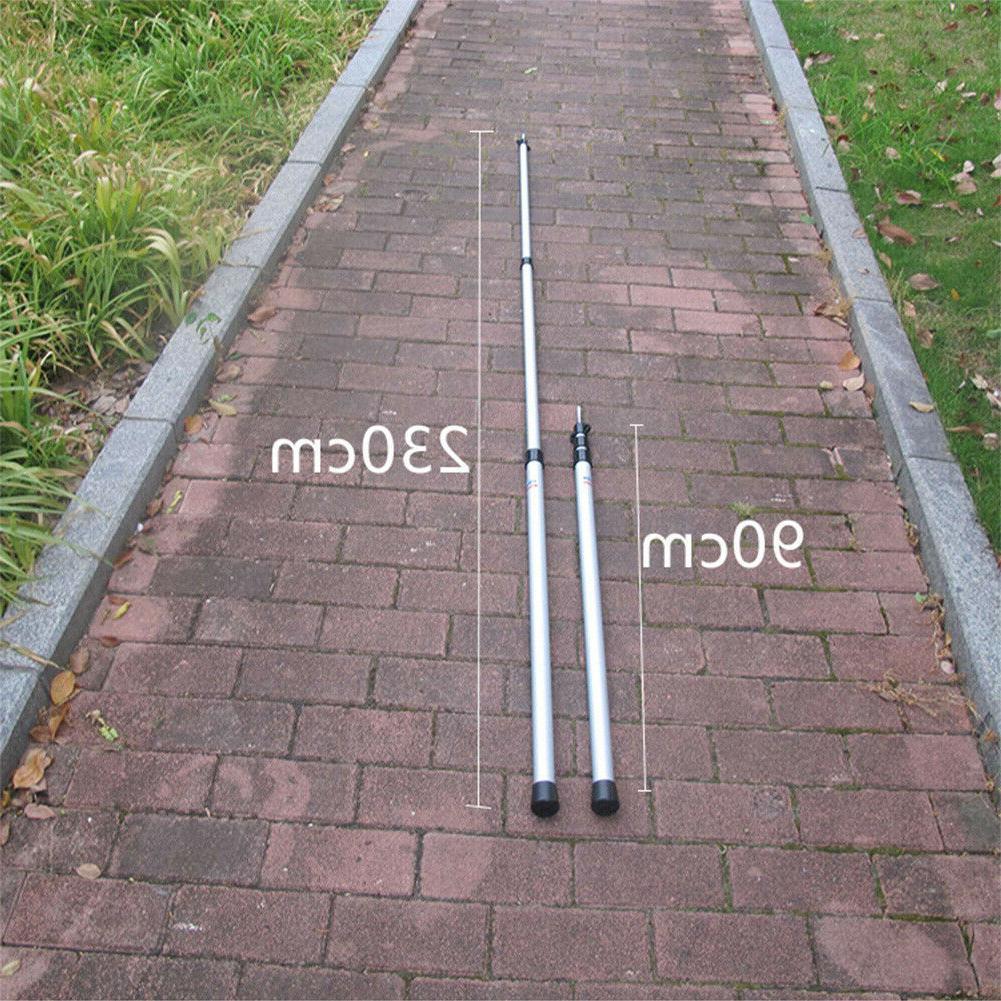 Outdoor Tarp Poles Telescoping Tent Adjustable 90cm-230cm