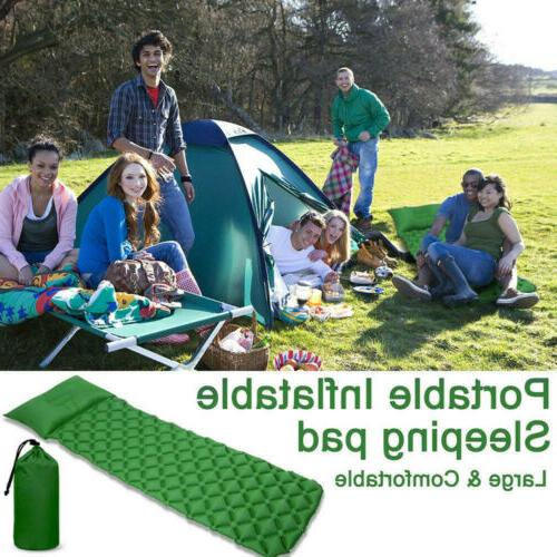 Outdoor Inflating Mat Tent Bed