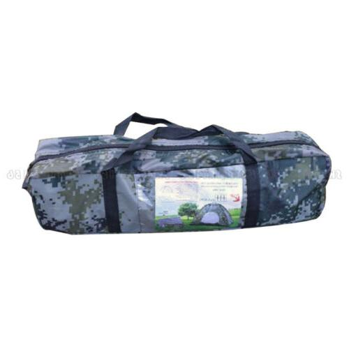 Outdoor Waterproof Person Tent Hiking Family