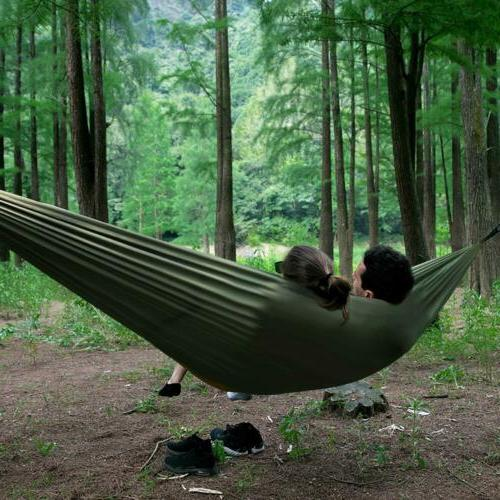 Outdoor Camping Net Hammock Tent Double Hanging Bed Travel Hike