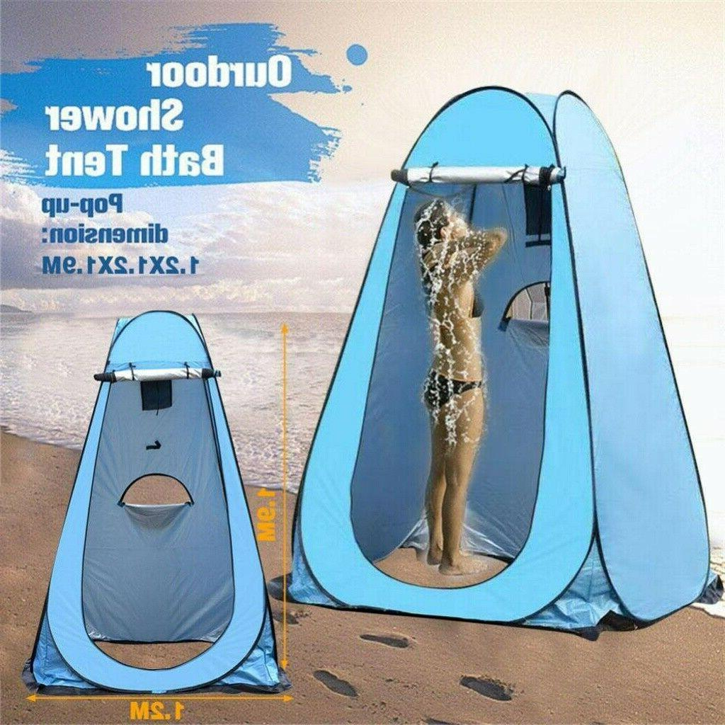 Outdoor Pop Camping Toilet Room Privacy Shelter